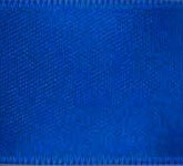 039-145 Blue Wired Swiss Double Face Satin Ribbon