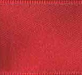 039-193 Merlot Wired Swiss Double Face Satin Ribbon