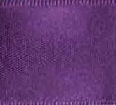 039-310 Royal Purple Wired Swiss Double Face Satin Ribbon