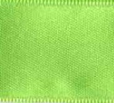 039-502 Lime Wired Swiss Double Face Satin Ribbon