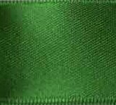 039-607 Emerald Wired Swiss Double Face Satin Ribbon