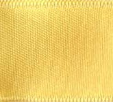 039-615 Light Yellow Wired Swiss Double Face Satin Ribbon