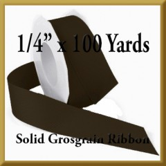 066- 1_4 x 100 yards Solid Grosgrain Ribbon Product Image