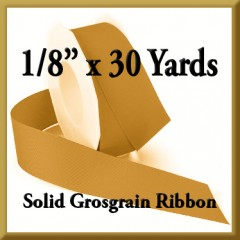 066 1_8 x 30 yards Solid Grosgrain Ribbon Product Image