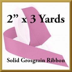 066- 2 x 3 yards Solid Grosgrain Ribbon Product Image