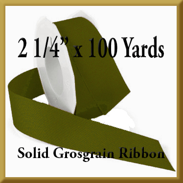 066- 2_1_4 x 100 yards Solid Grosgrain Ribbon Product Image