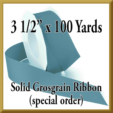 066- 3 pt 5 Inch x 100 yds Solid Grosgrain Ribbon Product Image