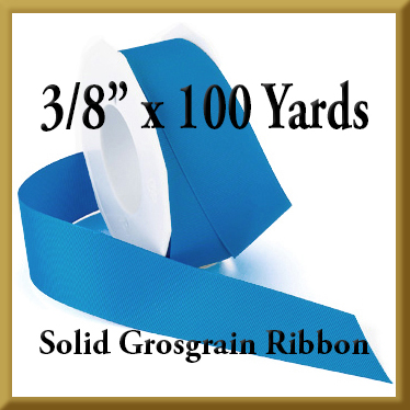 066- 3_8 x 100 yards Solid Grosgrain Ribbon Product Image