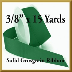 066- 3_8 x 15 yards Solid Grosgrain Ribbon Product Image