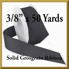066- 3_8 x 50 yards Solid Grosgrain Ribbon Product Image