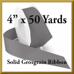 066- 4 x 50 yards Solid Grosgrain Ribbon Product Image