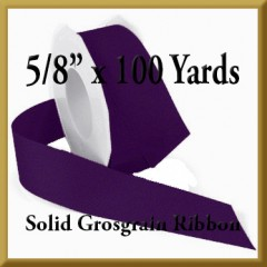 066- 5_8 x 100 yards Solid Grosgrain Ribbon Product Image