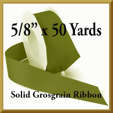066- 5_8 x 50 yards Solid Grosgrain Ribbon Product Image
