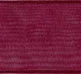 918-018 Burgundy Sheer Organdy Ribbon