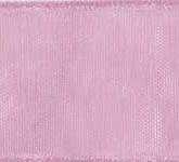 918-021 Mauve Sheer Organdy Ribbon