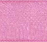 918-022 Pink Sheer Organdy Ribbon