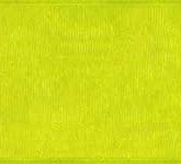 918-027 Lime Sheer Organdy Ribbon