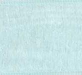 918-042 Aqua Sheer Organdy Ribbon