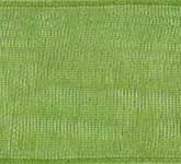 918-137 Apple Green Sheer Organdy Ribbon