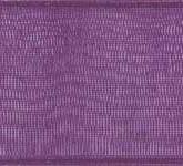 918-604 Plum Sheer Organdy Ribbon