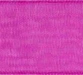 918-606 Cerise Sheer Organdy Ribbon