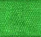 918-607 Emerald Sheer Organdy Ribbon