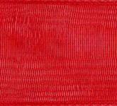 918-609 Red Sheer Organdy Ribbon