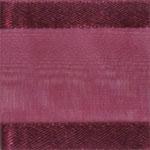 938-018 Burgundy Sheer Delight Satin Edge Ribbon