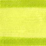 938-027 Lime Sheer Delight Satin Edge Ribbon