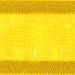 938-605 Yellow Sheer Delight Satin Edge Ribbon