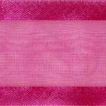 938-606 Cerise Sheer Delight Satin Edge Ribbon
