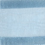 938-612 Blue Mist Sheer Delight Satin Edge Ribbon