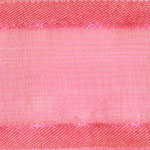 938-616 Hot Pink Sheer Delight Satin Edge Ribbon