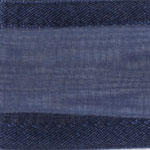 938-624 Navy Blue Sheer Delight Satin Edge Ribbon