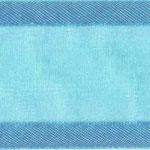 938-712 Turquoise Sheer Delight Satin Edge Ribbon