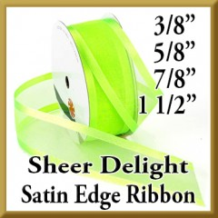 938 Sheer Delight Satin Edge Ribbon Product Image