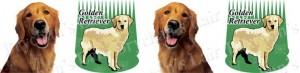 Golden Retriever Dog Breed Ribbon Design