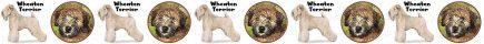 Wheaten Terrier Dog Breed Custom Printed Grosgrain Ribbon