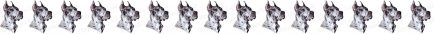 Merle Great Dane No2 Dog Breed Custom Printed Grosgrain Ribbon