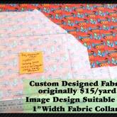 Dog Obedience RED Custom Fabric