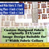 Dog Obedience Graduate Custom Fabric