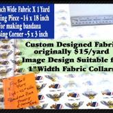 Flyball Fury Custom Fabric