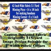 Flyball Fury Custom Fabric Pic No2