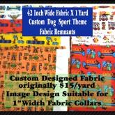 Product Image Dog Sport Custom Fabric Designs