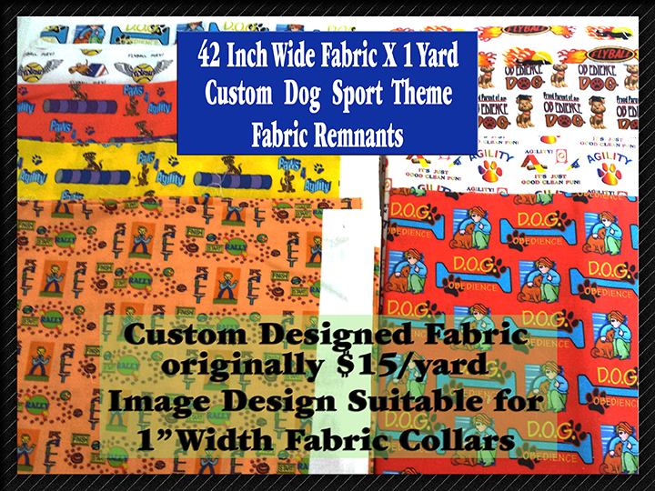 Product Image Dog Sport Custom Fabric Designs