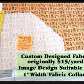 Dog Rally Competition Custom Fabric Pic No2