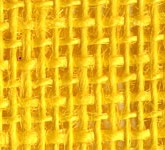Bright Yellow Wholesale Wired Burlap Ribbon