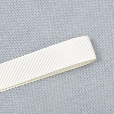Wholesale Antique White 028 Solid Grosgrain Ribbon by the Roll