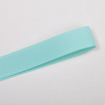 Wholesale Aqua 314 Solid Grosgrain Ribbon by the Roll