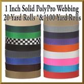 Product Image 1 Inch PolyPro Polypropylene Webbing